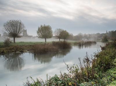 Water Meadow mist (C) Bill Hiskett
