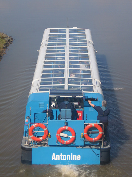 ANTONINE heading for the Falkirk Wheel.<br /> 12th April 2007