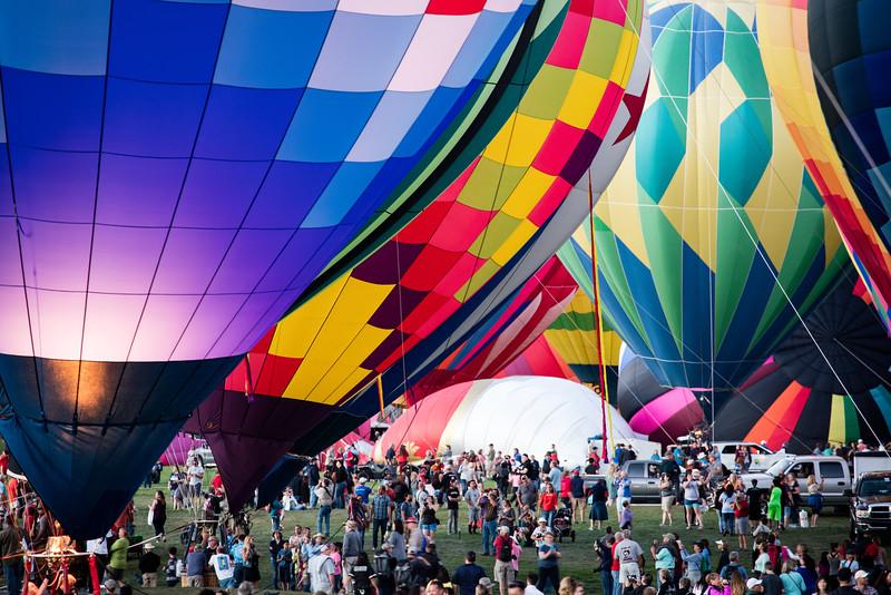 Balloon Glow Preperation