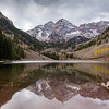 Reflected Maroon Bells