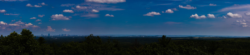 Boston Skyline from Blue Hills Reservation