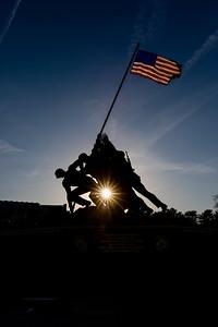 Marine Corps Memorial (Iwo Jima Memorial)
