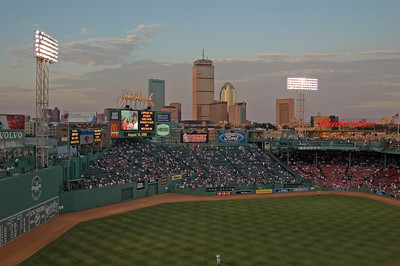 Fenway Park horizontal skyline