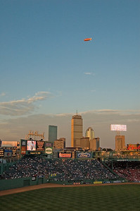Fenway Park vertical skyline