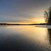 Iced sunrise