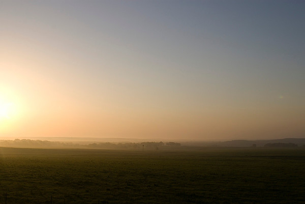 Flint Hills Sunrise