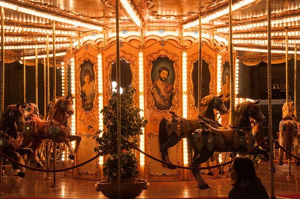 Carousel at the Piazza della Repubblica, Florence