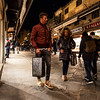 011417_Chilly shoppers scurrying along the Ponte Vecchio