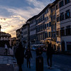 011517_Sun setting on the Via Romana