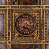 011817_The modest painting of Cosimo Medici on the ceiling
