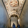 011817_Stairs up, the Medici symbol hovering over