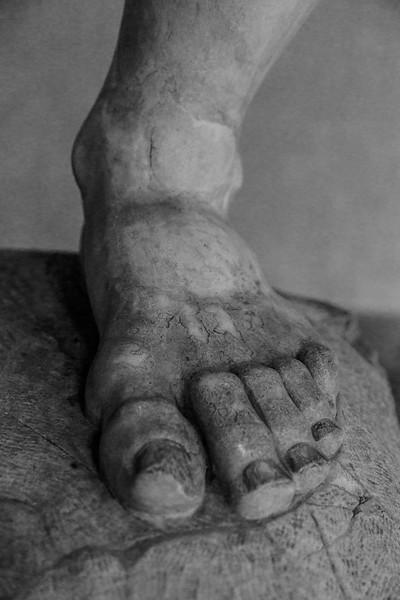 011717_Weathered marble foot