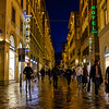 011317_Damp night on the Via del Calzaiuoli