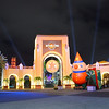 An entrance so perfect it almost looks fake<br /> Universal Studios<br /> Orlando, Florida<br /> December 2012