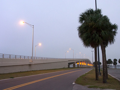 The Titusville-Merritt Island bridge Florida December 2012