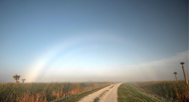 A fogbow!