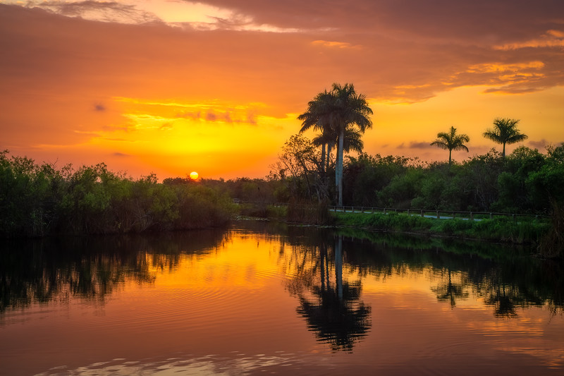 Everglades National Park sunrise