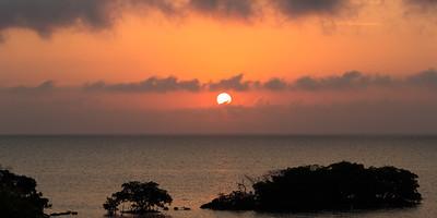 Sunrise over Key Largo