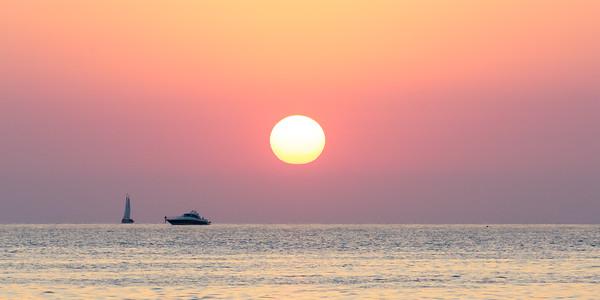 Sunset over Key West