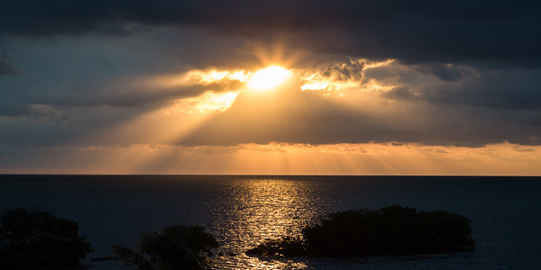God's Rays over Key Largo