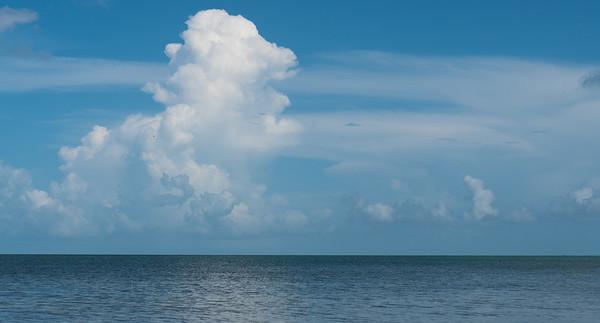 florida bay clouds