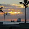 Several sailboats offer sunset cruises