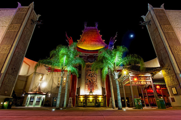 Grauman's at night