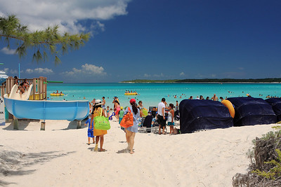 Little San Salvador Island, The Bahamas Half Moon Cay