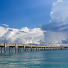Dania Beach pier.