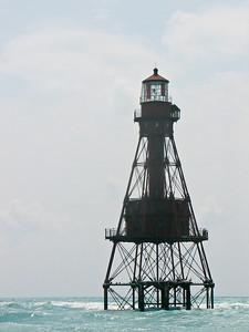 American Shoals Lighthouse, Key, West, FL