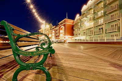 The Boardwalk Benches