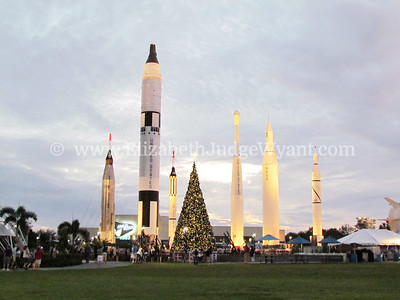 Kennedy Space Center at Chrsitmas