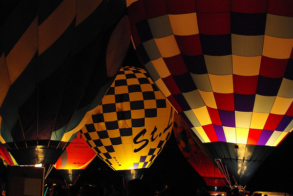 Forest Park Balloon Glow 2009