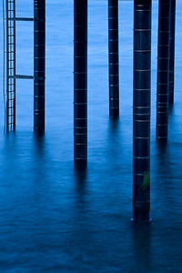 Pier Pilings, Point Arena, CA