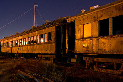 Skunk Train Passenger Cars, Fort Bragg, CA