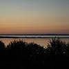 Slave Lake, Alberta, at dusk
