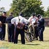 going over the cannon firing instructions