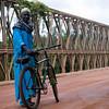 Homem na ponte de Contubuel.