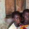 Crianças de Madina Mandinga - tabanca no sector de Pitche, região de Gabú.