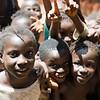 Crianças da tabanca de Caur de Cima, sector de Empada, região de Gabú.