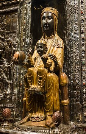 Black Madonna, Montserrat