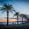 Sunset on the French Riviera, Nice