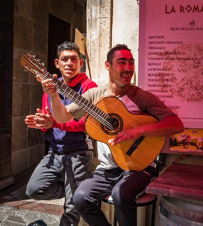 Street Musician, Arles