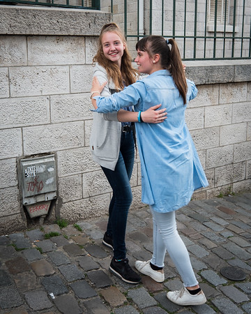 Dancing on the Sidewalk, Paris