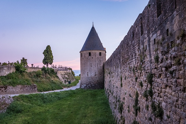 Castle Walls, Carcassonne
