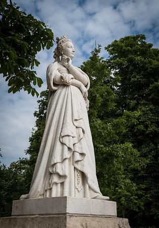 Garden Statue, Paris