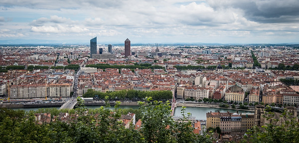 City of Lyon Panorama
