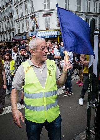 Yellow Vest Protester, Paris