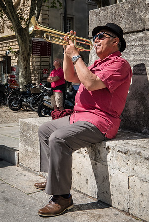 Street Musician, Avignon