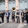 Street Band Performing, Avignon